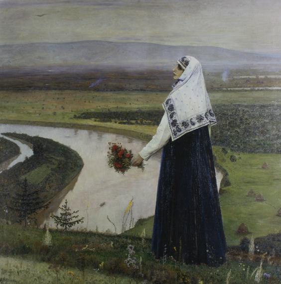 """Михаил Нестеров """"На горах"""" 1896, Киевский музей русского искусства"""