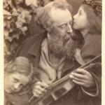 """Джулия Маргарет Кэмерон """"Шепот музы"""" 1865"""