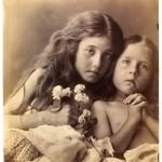 """Джулия Маргарет Кэмерон """"Красные и белые розы"""" 1865"""
