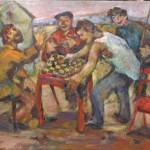 """Абрам Моносзон """"Турнир"""" 1960-е"""