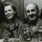 Виктор Тоот и Вера Кизевальтер. 1959 г.