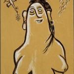 """Ларионов М.Ф. """"Венера с птицей"""" 1920-е-1930-е"""