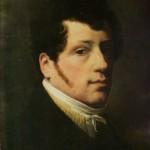 """8. Щедрин Сильвестр """"Автопортрет"""" 1817 Холст, масло 46,8х35,5 Государственная Третьяковская галерея"""