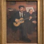 """Эдгар Дега """"Портрет Лоренцо Пагана и Огюста Дега"""" 1869"""