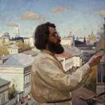 """Сергей Смирнов """"Автопортрет"""" 1993-1996"""