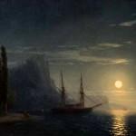 """Иван Айвазовский """"Море в лунном свете"""" 1857"""