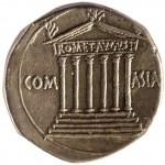 Август (31 г. до н.э.–14 г.н.э.). Кистофор. Серебро. 19–18 гг. до н.э.