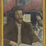 """Пьер Боннар """"Композитор Клод Террасс с дочерьми"""" 1902"""