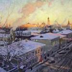 """Сергей Смирнов """"Зимнее московское утро"""" 2004"""