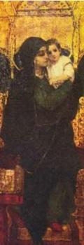 """Виктор Васнецов """"Богоматерь с младенцем на троне"""". Дом-музей В.М. Васнецова"""