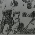 """4. Гурвич Борис """"Без названия"""" 1925 Бумага, карандаш, тушь 17х25,5 Государственный Русский музей"""