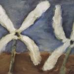 """Владимир Яковлев """"Два белых цветка"""" 1973"""