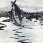 """Владимир Яковлев """"Летящая рыба"""" 1971"""