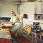 """Сергей Смирнов """"Утро в пекарне"""" 1996"""