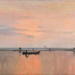 """Ричард Берггольц """"Лагуна в Венеции"""" Конец 1890-х – 1900-е"""