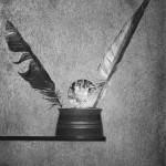 """Тимофей Смирнов """"Падение Икара"""" 2014 - Галерея «Файн-Арт» - «Тимофей Смирнов. Черным по белому или белым по черному»"""