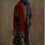 """12. Чернецов Г.Г. """"П.М.Куницкий. Этюд"""" 1832 Бумага на холсте, масло 20,5х11 Государственная Третьяковская галерея"""
