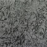 """20. Гурвич Борис """"Памяти Иржи Бальцера"""" 1960-е Бумага, карандаш 29,8х40"""