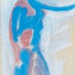 """41. Чернышев Борис """"Модель. Серия 56"""" 1964 Бумага, темпера 29,9х20,8"""