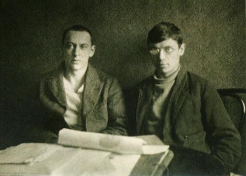 Владимир Телепнев и Яков Лифшиц (Ленинград, 1920-е)