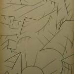 "8. Максимов Александр ""Объемы"" 1961 Бумага, черный карандаш Собрание галереи ""Ковчег"""