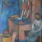 "4. Евгений Расторгуев ""На Сум-Острове"" 1967 Холст, масло 100х71"