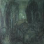 "6. Евгений Расторгуев ""Купание при лунном свете"" 1971 Холст, масло 92х80"