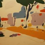 Алексей Ланцев «Площадь в Риме 3»