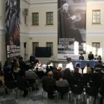 Пресс-конференция, посвященная открытию выставки