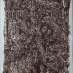 """Дмитрий Плавинский """"Собор с летучей мышью"""" 1972"""