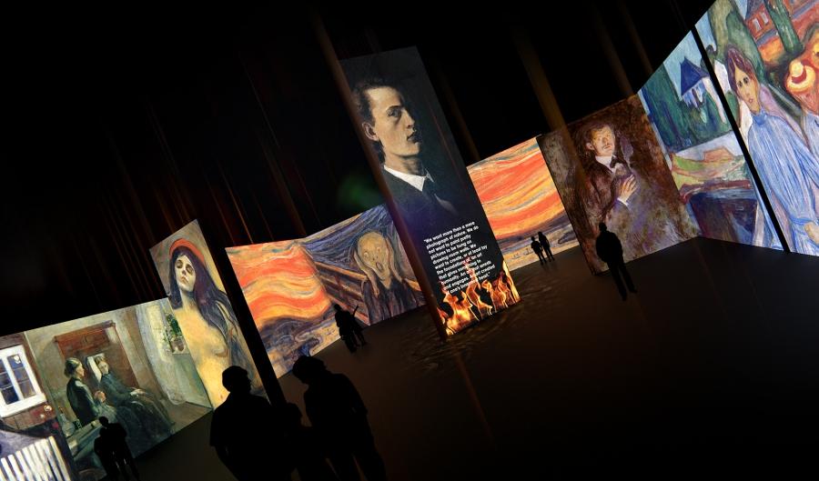 Великие модернисты - мультимедийная выставка - Cultobzor.ru