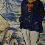 """Николай Русаков """"Автопортрет"""" 1913-1916(?)"""