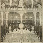 """Оттомар Эллингер Оттомар III """"Иллюминация и фейерверк 28 января 1735 года в день рождения императрицы Анны Иоанновны"""" 1735"""