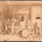 """Павел Федотов """"В надежде на свой талант, женился без приданого"""" 1844–1846"""