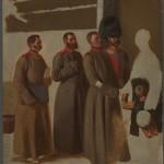 """Павел Федотов """"Группа солдат"""" 1849–1850"""