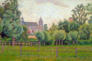20 февраля 1863 года родился Люсьен Писсарро