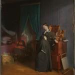 """Павел Федотов """"Вдовушка (вариант с лиловыми обоями)"""" 1851–1852"""
