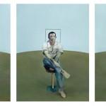 """Мишель Платник """"После. Три эскиза портрета Джона Эдвардса, 1984"""". 2013"""