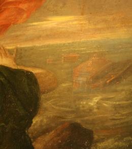 """Викентий (Виченцио) Иванович Бриоски """"Девкалион и Пирра"""" 1813 (фрагмент)"""