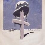 "Пётр Кривоногов ""Он получил зимнюю квартиру"" 1942"