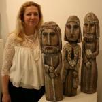 Скульптор Евгения Кудрина