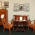 Мемориальная часть экспозиции, посвященная А.З. Крейну