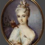 """Неизвестный художник первой трети XVIII века """"Портрет молодой дамы в образе Дианы"""" 1710–1720-е"""