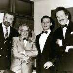 Г. Горин, З. Гердт, В. Спиваков, С. Бэлза, 1980-е
