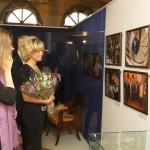 На вернисаже выставки памяти С.Бэлзы
