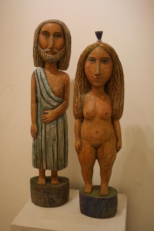 """Евгения Кудрина """"Христос и Магдалина"""" 2011"""