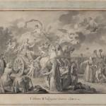 """Ф. де Мейс """"Екатерина II, путешествующая в своем государстве в 1787 году. Аллегория"""" 1787–1788"""