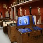 """Инсталляция в зале 16 Музея - """"Искусство, собранное по крупицам..."""""""