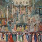 """Георгий Якулов """"Гуляние в парке"""" 1910-е"""