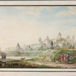 "Иванов М.М. ""Вид крепости в Бендерах"" 1790"